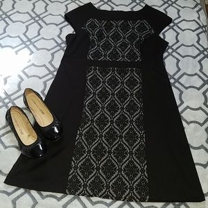 Classy black & grey dress